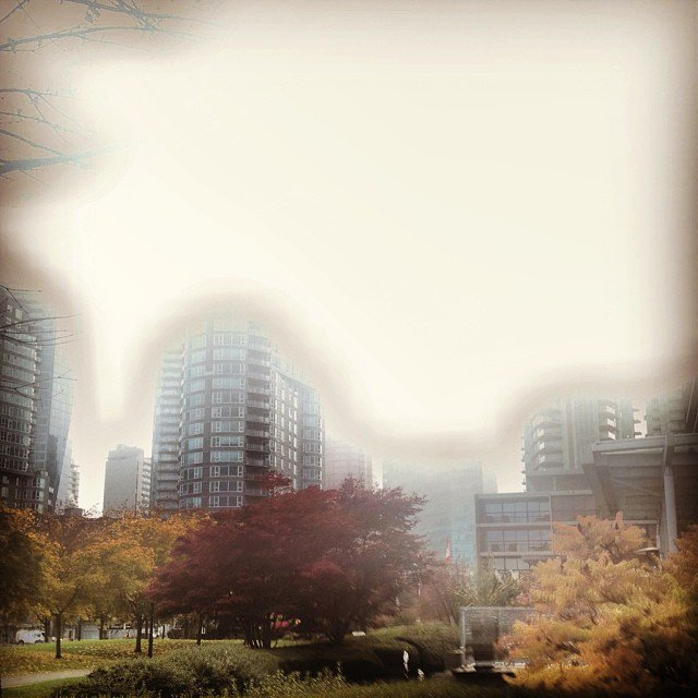 another picture from earlier this week in fogcouver vancouver vanarch coalharbour bestshooter sky buildingstylesgf