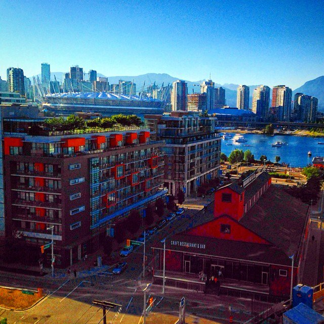 hot day in olympic village vancouver vanarch veryvancouver urbanocity explorebc