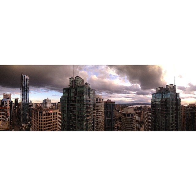 i couldnt focus for this panorama but my last picture exhibits the sun and clouds colliding at right in this picture us