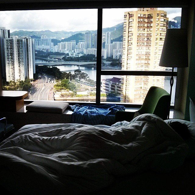 sleeping through a spectacular sunrise in hk story of my life not my photo hongkong discoverhongkong hongkong1000 earth